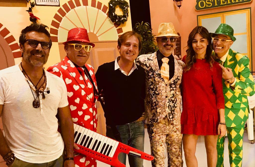Marco Clerici con gli Altamoda, Pablo e Mariarosa Aurelio