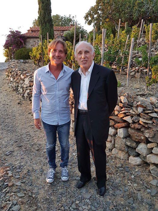 Marco Clerici con il M° Bruno Canino