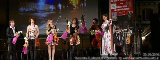 Marco Clerici con The Quartetto Euphoria e Mariarosa Aurelio