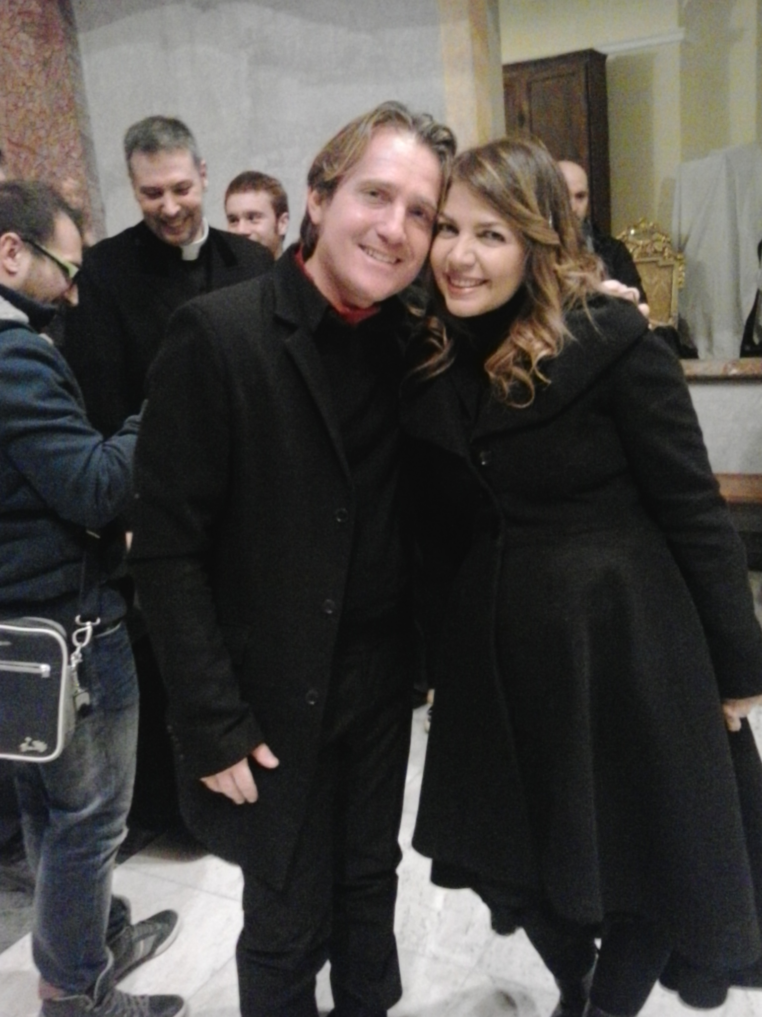 Marco Clerici con Cristina D'Avena