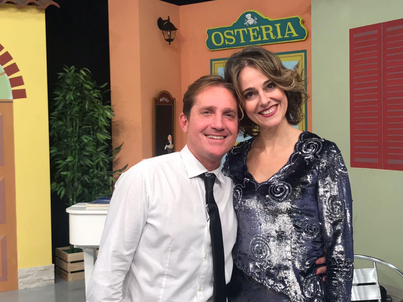 Marco Clerici con il soprano Sara Galli