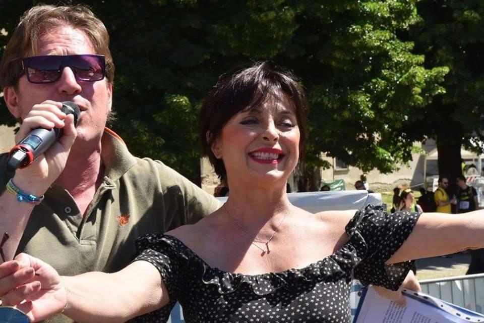 Marco Clerici con Marina Pallavicini