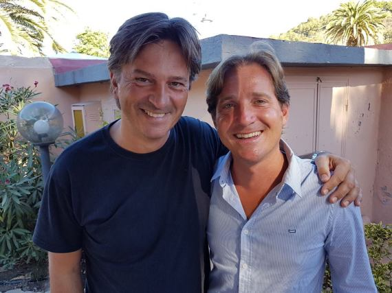Marco Clerici con Nick Norman