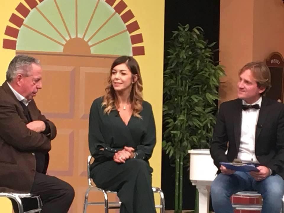 Mariarosa Aurelio e Marco Clerici con il M°Vince Tempera