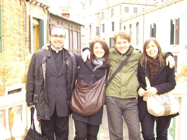 Marco Clerici a Venezia per cantare nella Basilica di San Marco