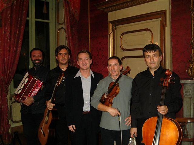 Marco Clerici con l\'Emoticon Ensemble
