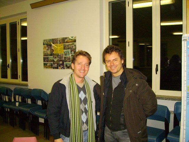 Marco Clerici con Franco Fasano