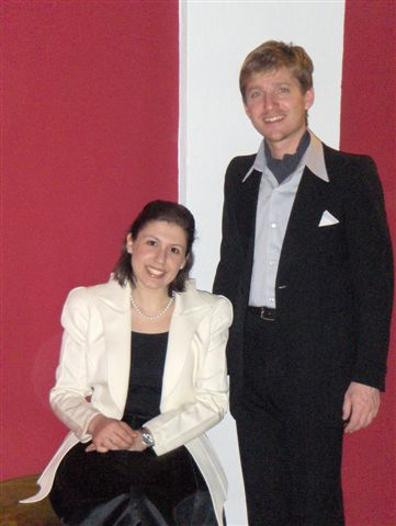 Marco Clerici con Marialaura Oltrabella
