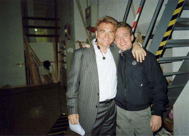 Marco Clerici con Paolo Limiti