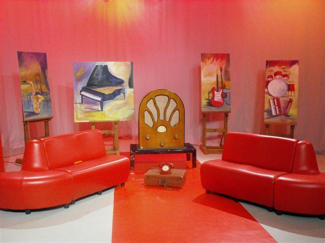 La Radio a Colori (Studio Televisivo)