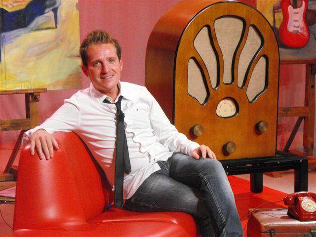 Marco Clerici negli studi di telePAVIA