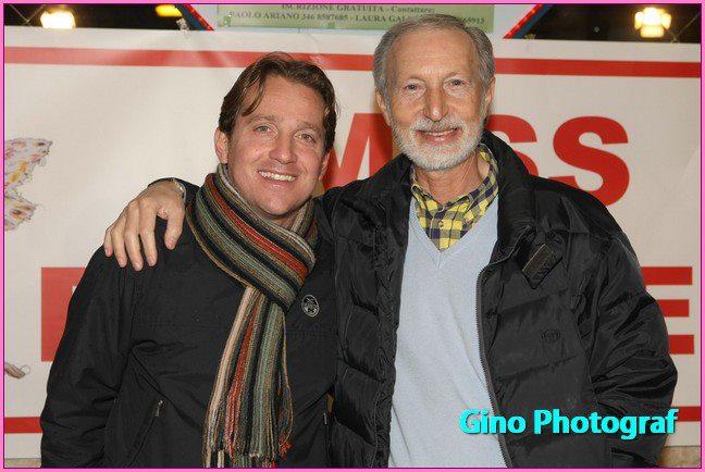 Marco Clerici con Paolo Ariano a Miss Primavera