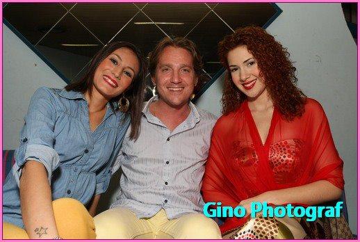 Marco Clerici con Vanessa Negrini e Valentina Barbaini (coreografe)