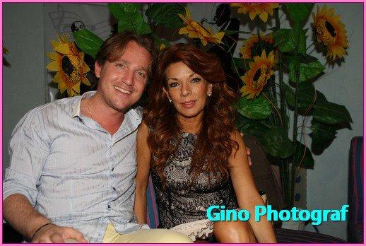 Marco Clerici con Fiorella Felisatti voce di Radio Italia