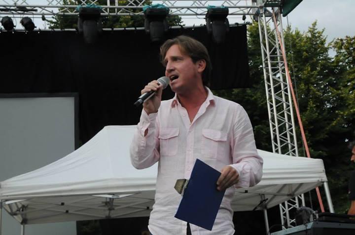 Marco Clerici presentatore ufficiale della Notte Bianca di Vigevano