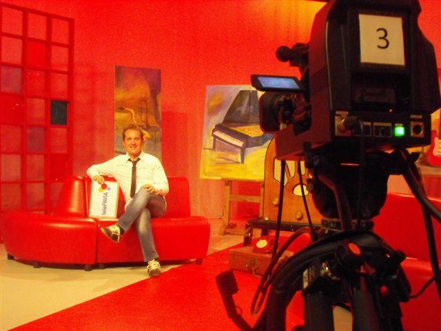 Marco Clerici conduttore di telePAVIA