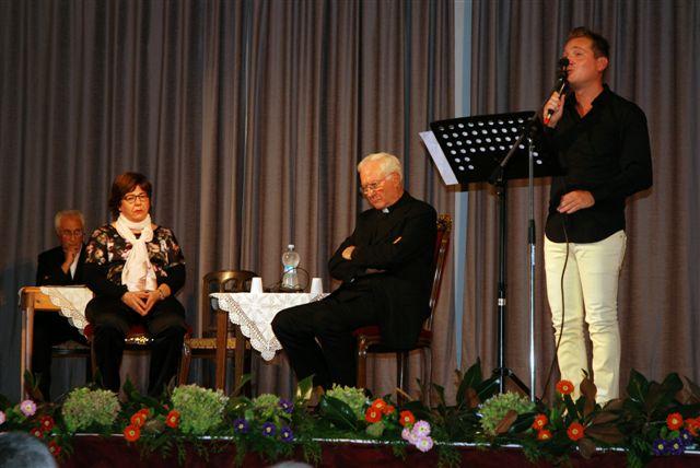 Marco Clerici legge poesie di Giovanni Paolo II