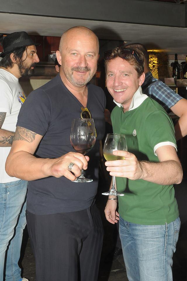Marco Clerici con Stefano Chiodaroli (Foto Lattari)