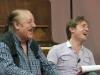 Marco Clerici con Bruno Castiglia durante la trasmissione LA RADIO A COLORI GRAN GALA'