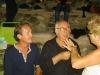 Marco Clerici con l'amico Elio Pandolfi