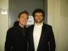 Marco Clerici con il tenore Marco Ferrari