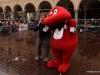 Marco Clerici presenta il Gabibbo per il Carnevale