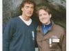 Marco Clerici con Massimo Giletti a Lourdes