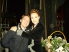 Marco Clerici con il mezzo soprano Tiziana Carrarro (prima insegnante di canto)