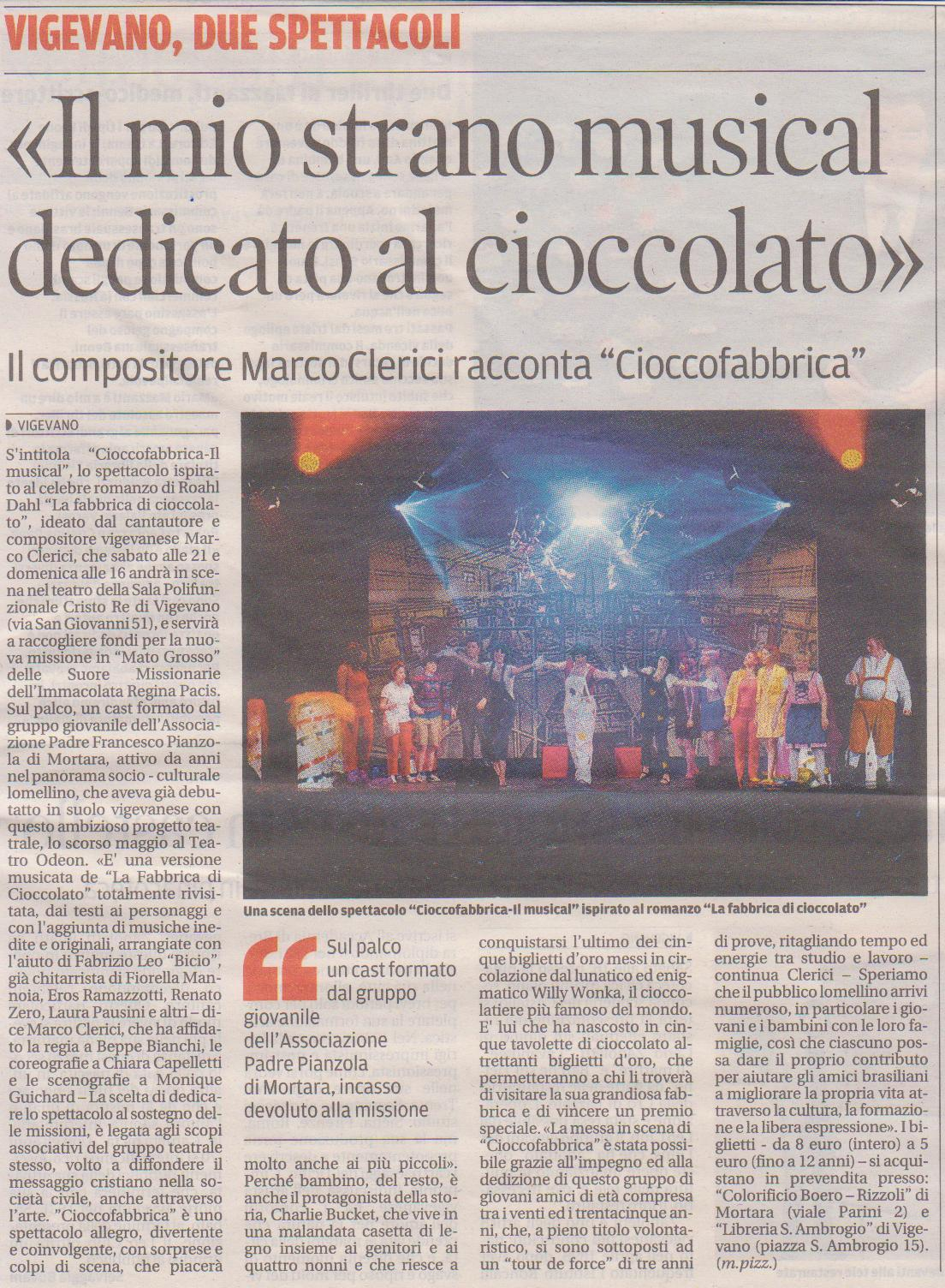 Cioccofabbrica - Il Musical