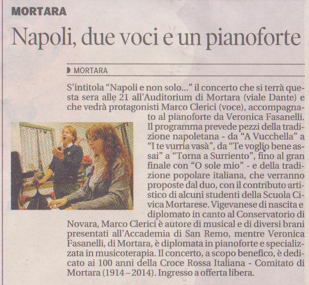 Napoli e non solo .. Marco Clerici e Veronica Fasanelli
