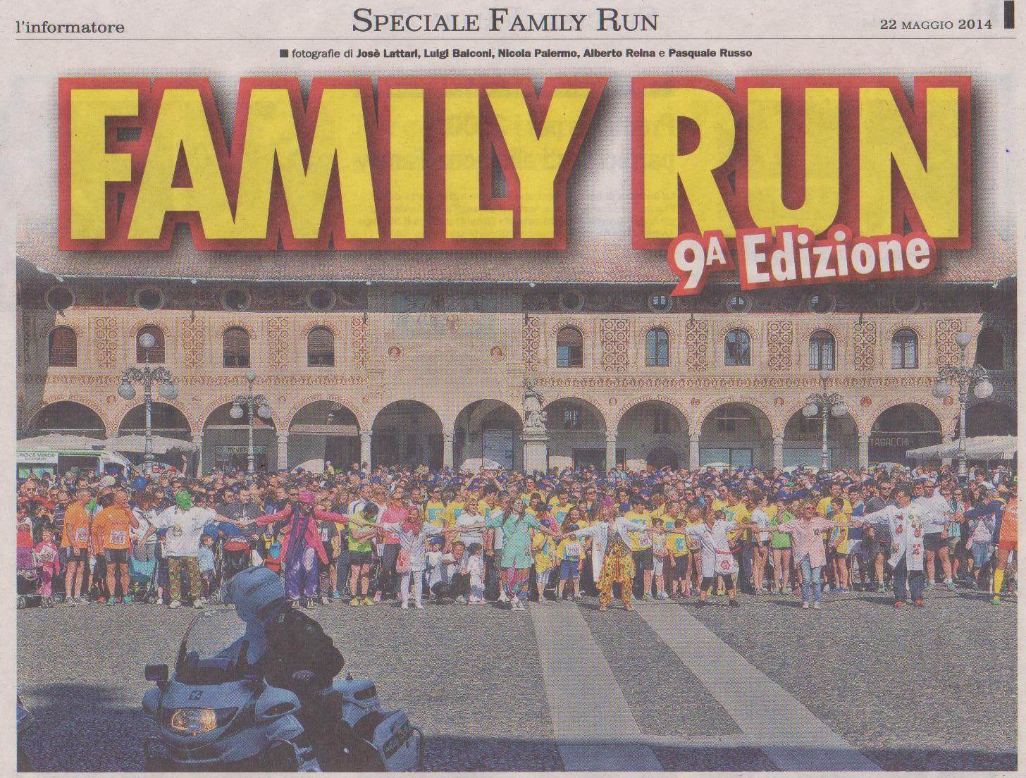 COPERTINA UFFICIALE FAMILY RUN