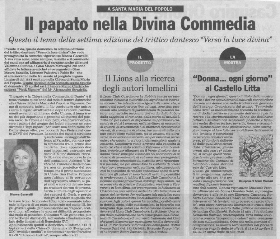 Bianca Garavelli legge Dante