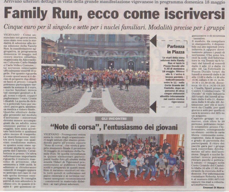 Family Run 2014 - Note di Corsa