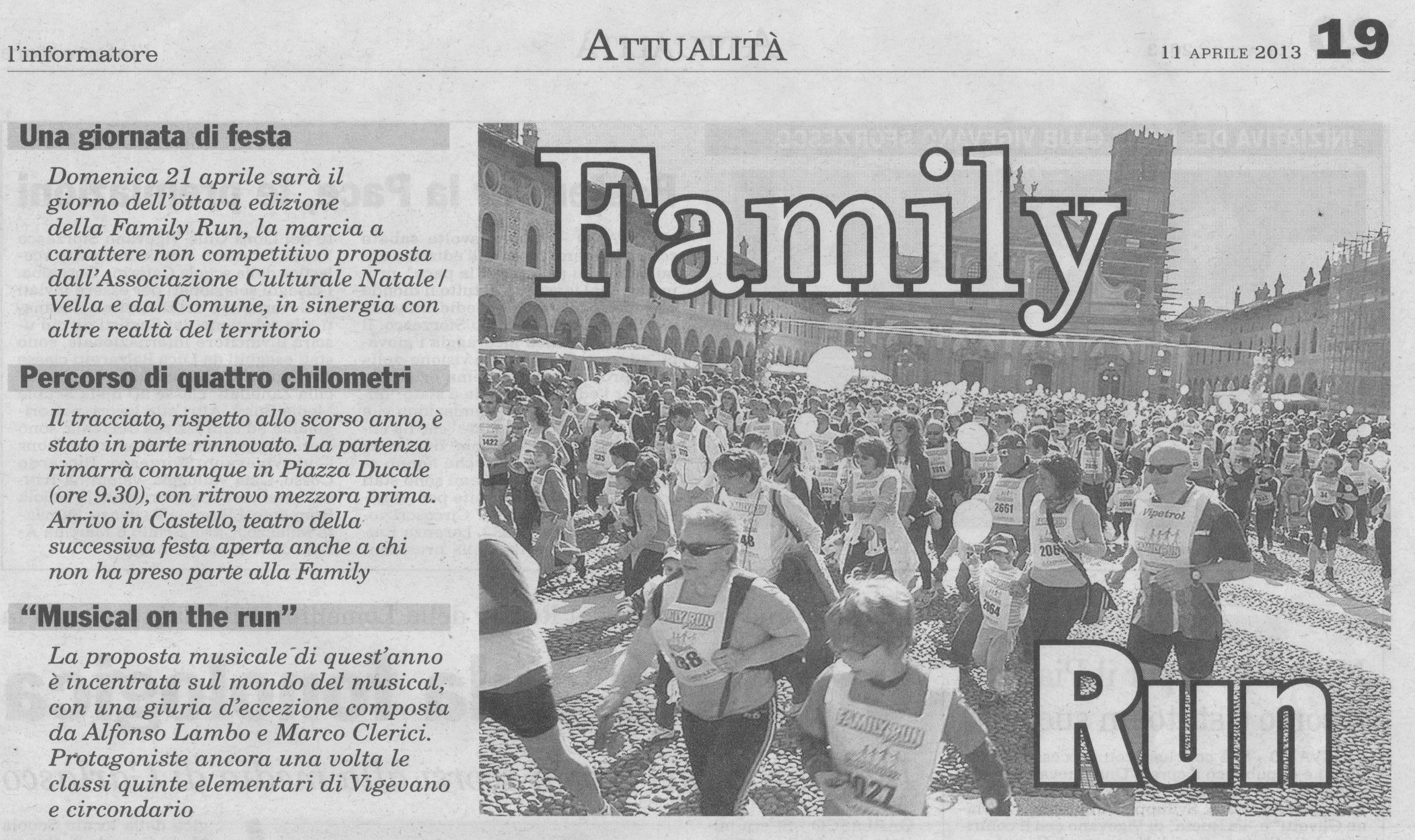 Family Run 2013