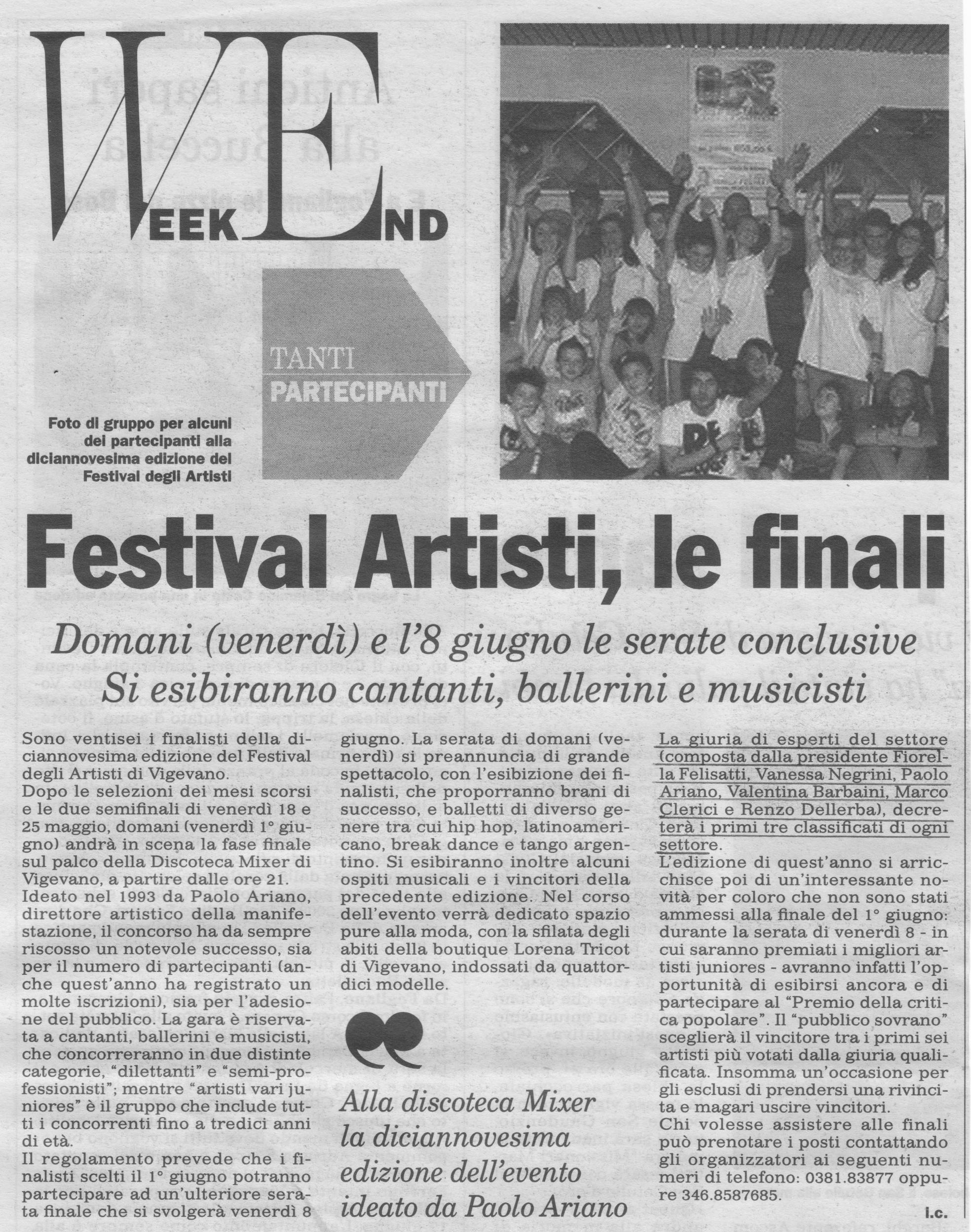 Festival degli artisti 2012