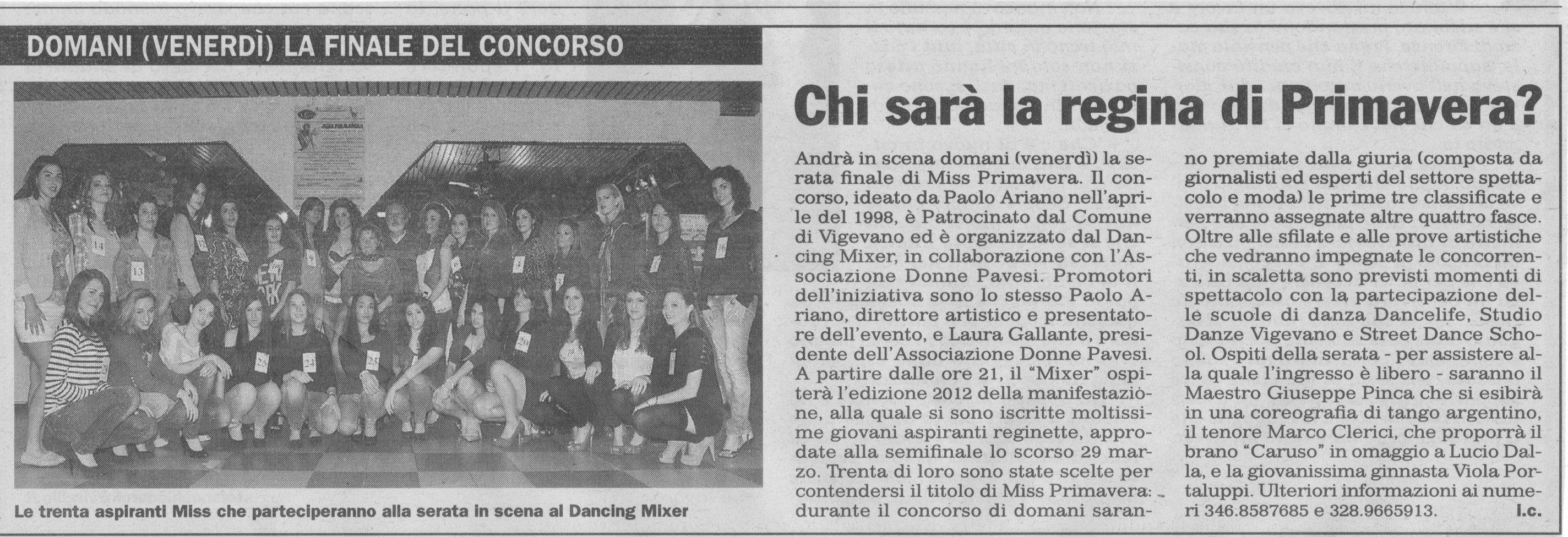 Miss Primavera