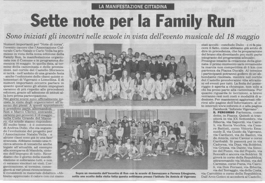 Family Run - Ron e Marco Clerici nelle scuole