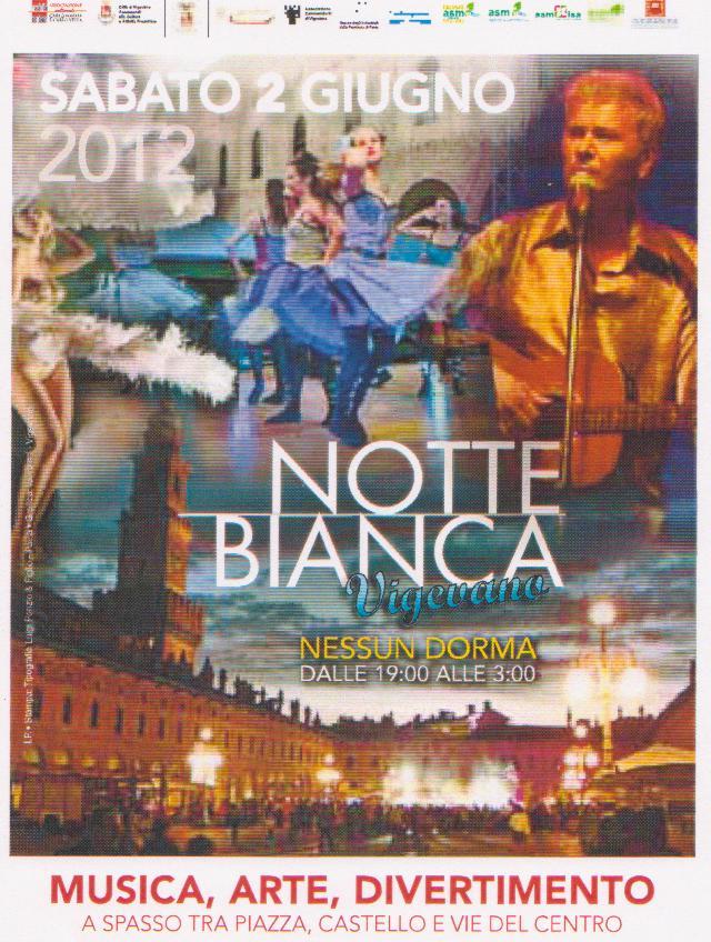 Locandina Notte Bianca 2012