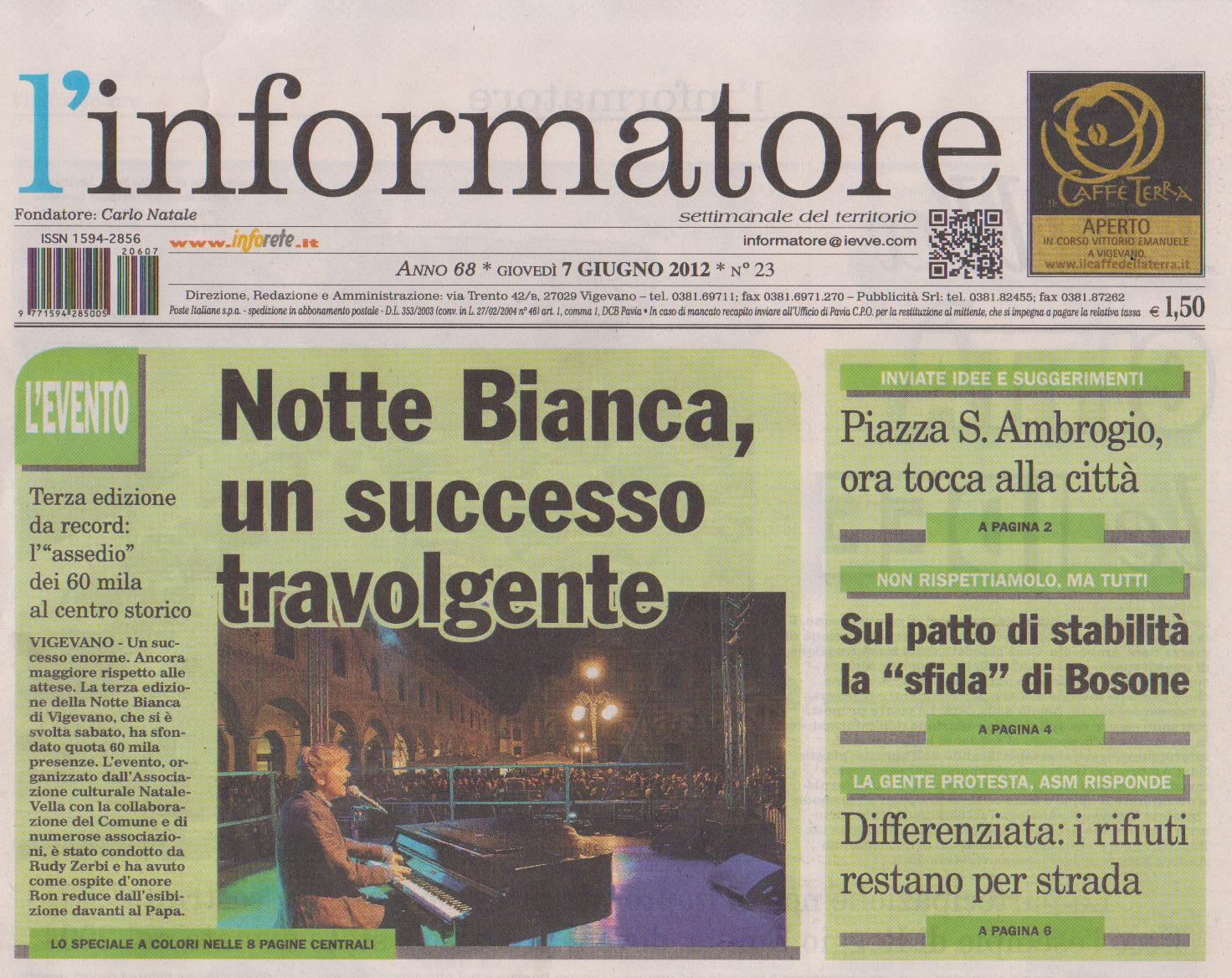 Notte Bianca Vigevano 2012