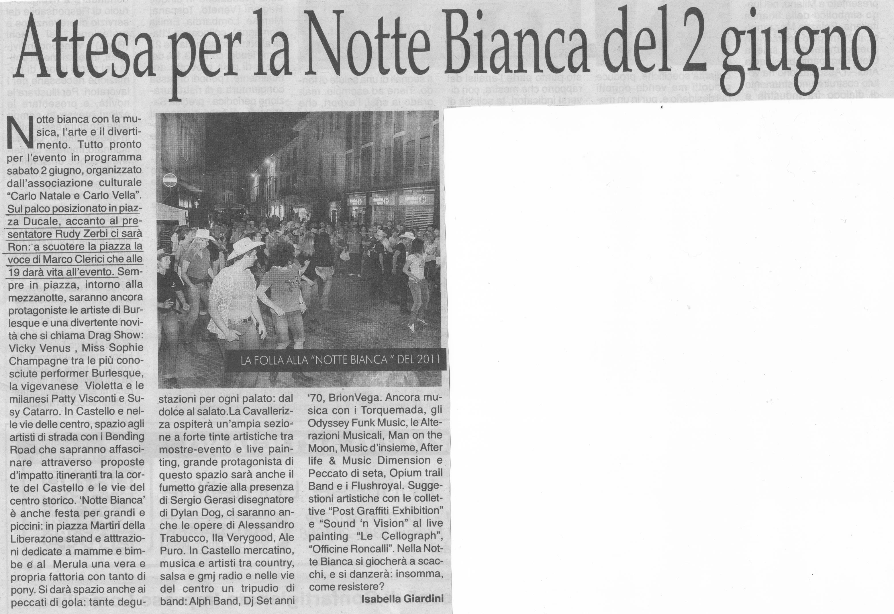 Notte Bianca Vigevano