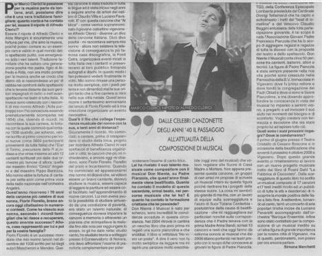 Intervista a Marco Clerici