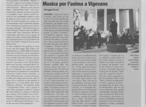 Mons. Frisina a Vigevano