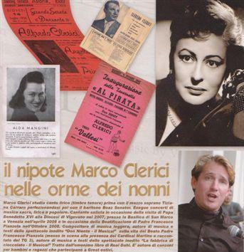 Marco Clerici ricorda Alfredo Clerici e Alda Mangini