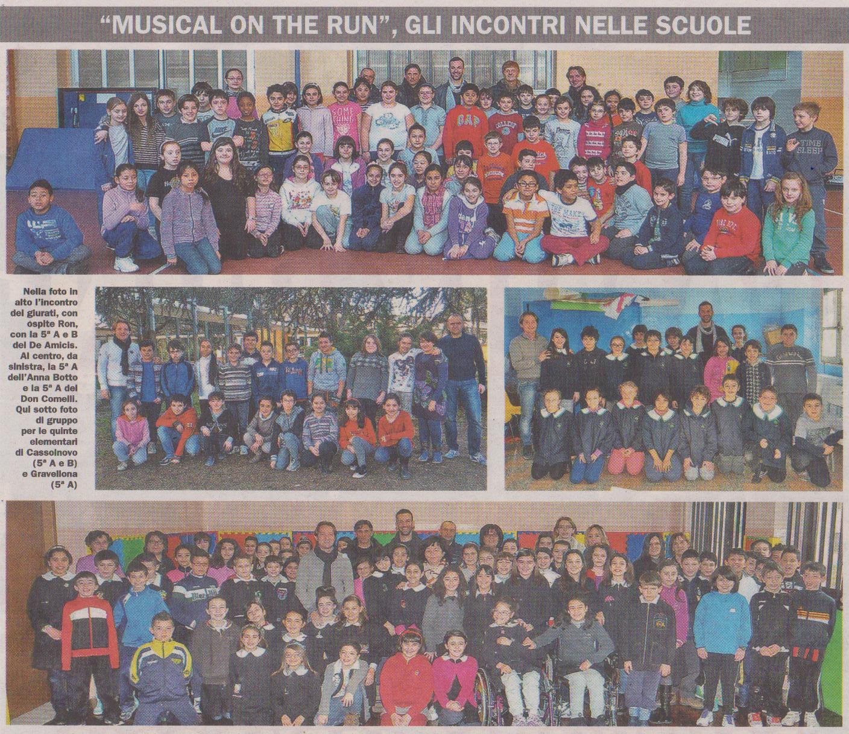 Ron, Alfonso Lambo, Andrea Dulio e Marco Clerici nelle scuole