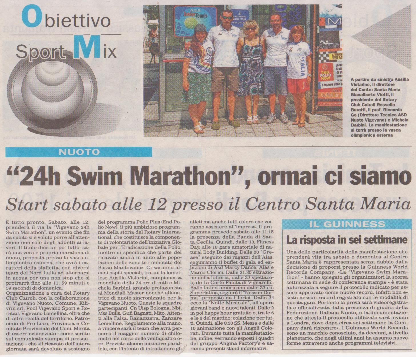Swim Marathon