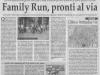Family Run, l\'iniziativa