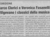 Napoli e non solo .. Concerto di Marco Clerici accompagnato da Veronica Fasanelli