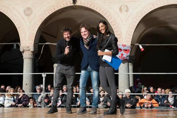 Edoardo Stoppa, Marco Clerici e Juliana Moreira