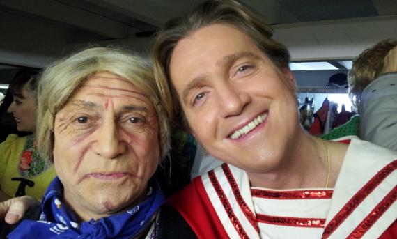 Marco Clerici con Roberto Paglino (Angiulina)