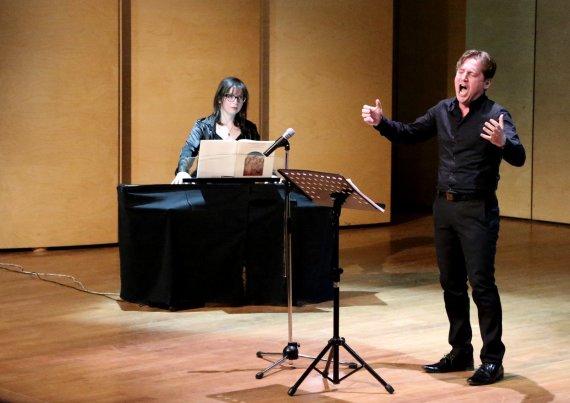 Marco Clerici accompagnato da Veronica Fasanelli